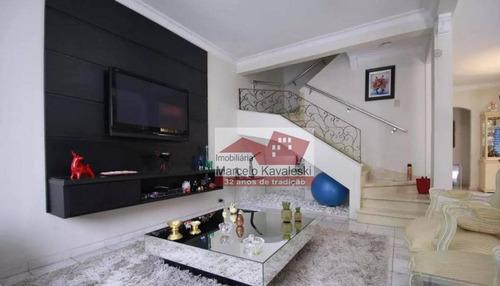 Sobrado Com 4 Dormitórios À Venda, 270 M² Por R$ 1.380.000 - Ipiranga - São Paulo/sp - So3305