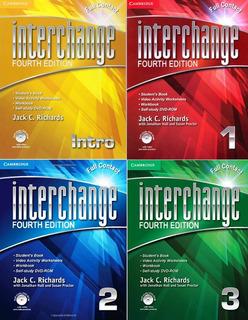 Interchange Full Contact 4th Fourth Edition Libro Físico