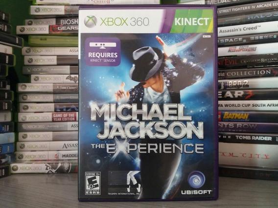 Jogo Para Kinect Michael Jackson Xbox 360 Sistema Pal Europe