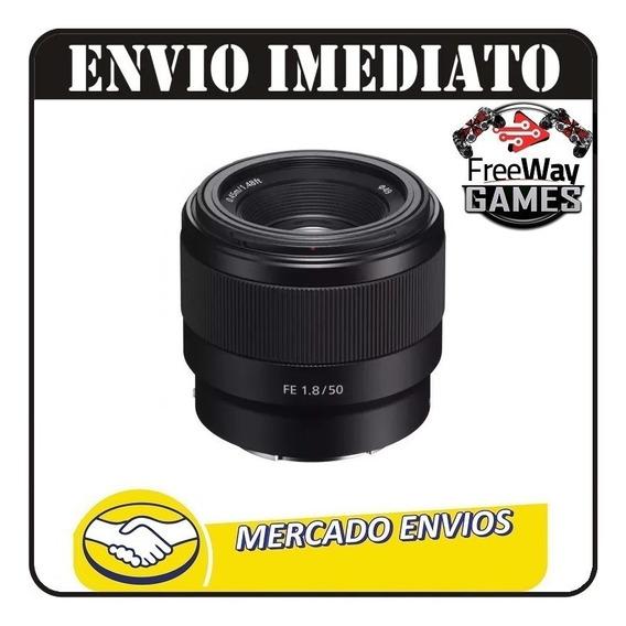 Lente Sony Sel 50mm F/2.8 Macro + Nfe