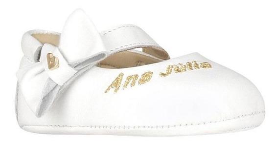 Sapato Personalizado Infantil Fem Meu Primeiro Bibi Branco