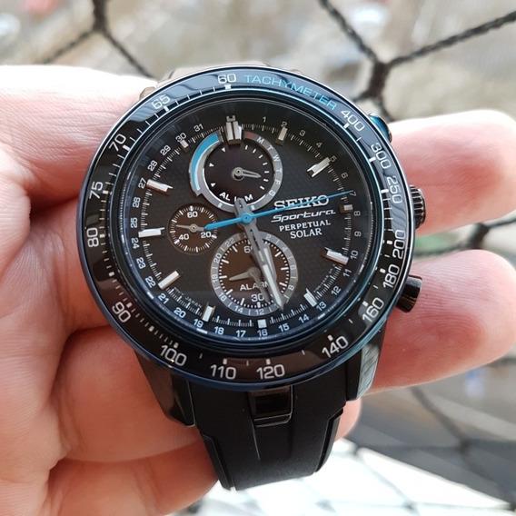 Relógio Seiko Sportura Ssc429b1 Novo Completo P. Entrega