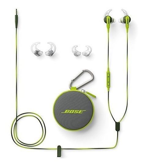 Abaixei! Fone Bose Soundsport In-ear Verde P/ Produtos Apple