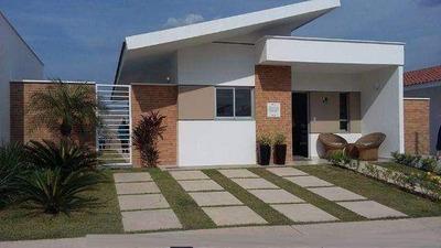 Baixe O Preço/casa Com 3qts No Condomínio Fechado