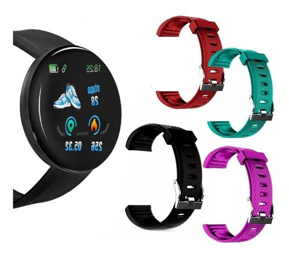 Pulseira Para Relógio Oled Smartwatch D-18 Várias Cores