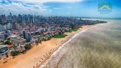 Apartamento Tipo Flat Residencial A Beira Mar - Venda - Praia De Cabo Branco - João Pessoa - Pb - Fl0045