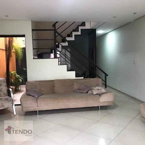 Imagem 1 de 15 de Imob01 - Sobrado 290 M² - Venda - 3 Dormitórios - 1 Suíte - Vila Mazzei - Santo André/sp - So0270