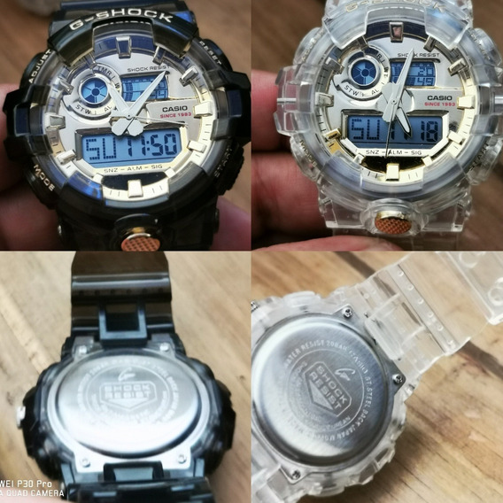 Reloj Tipo Militar Analogo Y Digital G Shock