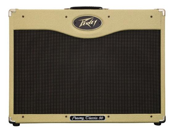 Cubo Amplificador Valvulado Guitarra Peavey Classic 50 212nf