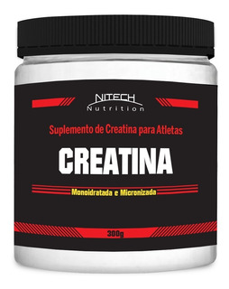 Creatina Monoidratada - 300g - Nitech Nutrition