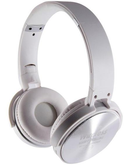 Fone Wireless Bluetooth Headphone Sem Fio Az-009 - Branco