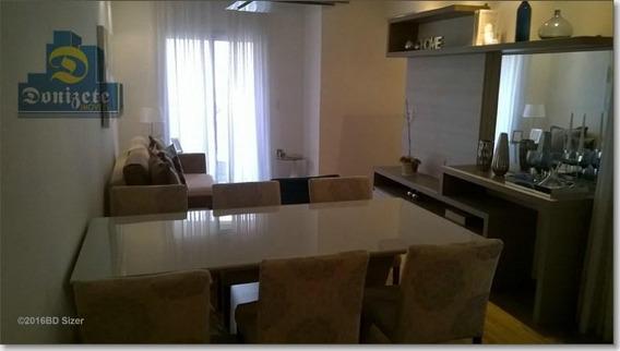 Apartamento Com 3 Dormitórios À Venda, 93 M² Por R$ 599.000,10 - Campestre - Santo André/sp - Ap2019