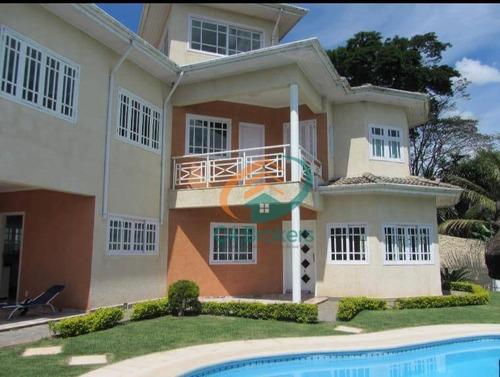 Chácara Com 5 Dormitórios À Venda, 1500 M² Por R$ 2.550.000,00 - Estância Santa Maria Do Laranjal - Atibaia/sp - Ch0012