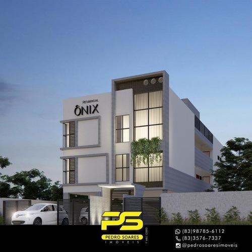 Apartamento Com 2 Dormitórios À Venda, 51 M² Por R$ 179.000 - Bancários - João Pessoa/pb - Ap3896