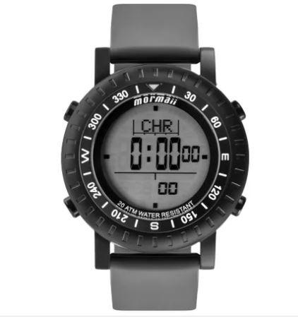 Relógio Mormaii Masculino Action Tabua De Maré Mo1152a/8p