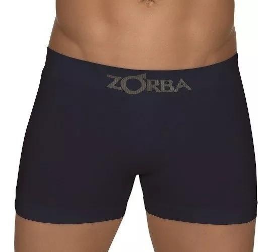 Zorba Algodão Boxer Seamless C/2 Unidades