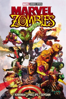 Comic Marvel Grandes Eventos Marvel Zombies Español Sellado