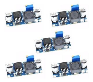 5 Pzas Modulo Regulador De Voltaje Ajustable Lm2596 1.25-30v