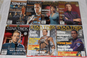 Star Trek Communicator Lote Enterprise 7 Revistas Importadas