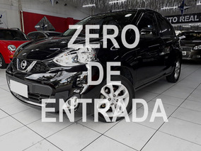 Nissan March Sv 1.6 Completo / Impecável / Zero De Entrada