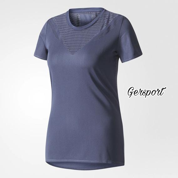 Remera adidas Feminine Mujer. Talle:xs. Br9834.