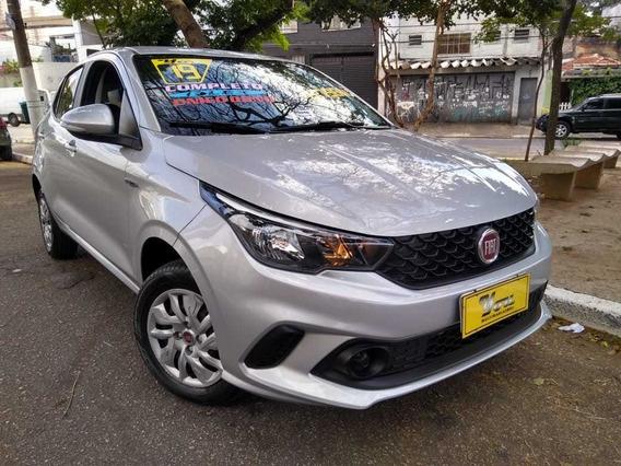 Fiat Argo Drive 1.3 Flex 2019 Prata Completo 6.780km Lindo