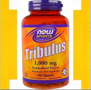 Tribulus Now Sports 1000mg 180tabs - Original - Importado!