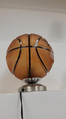 Lámpara De Mesa Balón De Basket 1 Luz E27 (025)s45