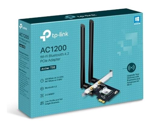 Tarjeta Red Wi-fi Pci-e Archer T5e Ac1300 + Bluetooth 4.2 Of