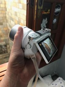Câmera Samsung Nx3000 Branca - Lente 18-55mm