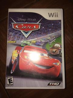 Videojuego De Cars Para Nintendo Wii