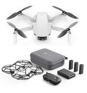 Drone Dji Mavic Mini Fly More Combo Cámara 2.7k Gray/black