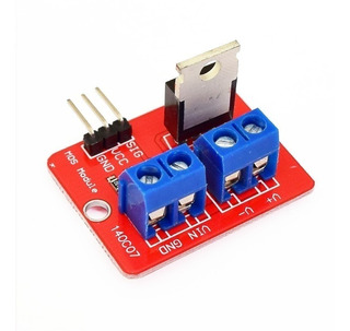 Módulo Driver Mosfet Irf520 Potencia Arduino