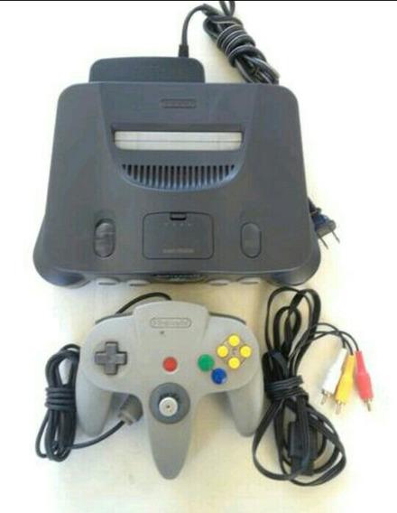 Nintendo 64 Completo Com 5 Jogos