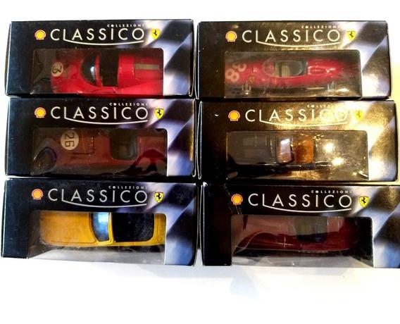 Colección 8 Autos Clasicos Ferrari Completa - Oferta Única !