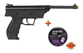 Pistola De Pressão Armais S3 4.5mm + Chumbinho 500 Brinde