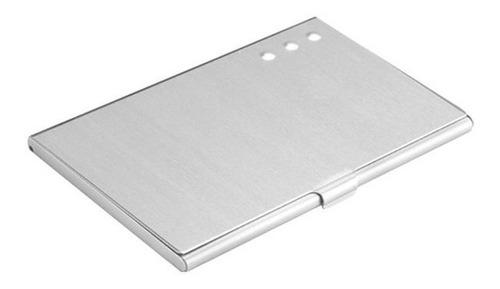 Portadocumento Tarjetero Vekony En Aluminio