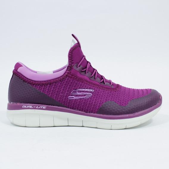 Tenis Para Mujer Skechers Synergy 2.0 12386ras-morado