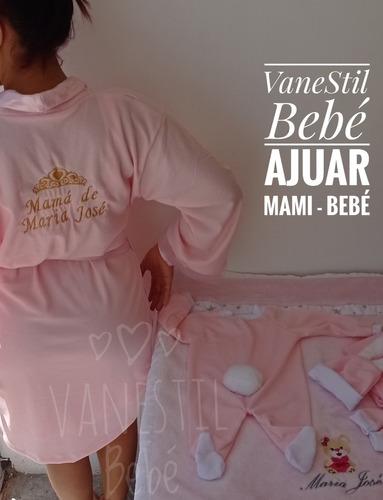 Bata Dormilona Lencería Materna Vanestil Bebe Personalizado