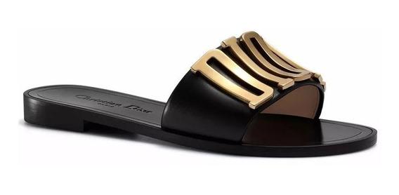 Sandália Chinelo Feminino Dior - Frete Grátis