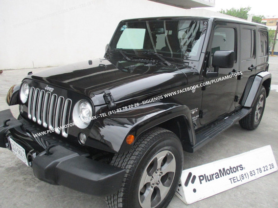 Jeep Wrangler 2017 Unlimited Sahara 4x4 Dvd Gps $589,000