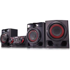 Mini System Lg X Boom Bluetooth 720w Cj45 Hi-fi Som Karaokê