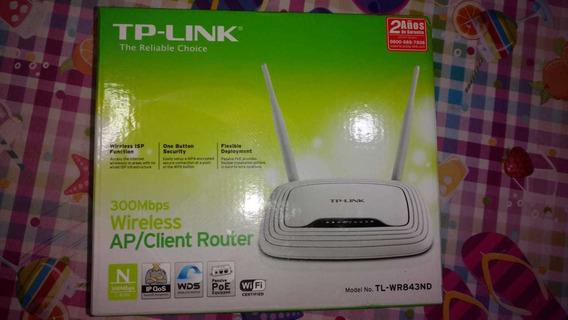 Router Tp Link 300mbps Wireless Ap/client