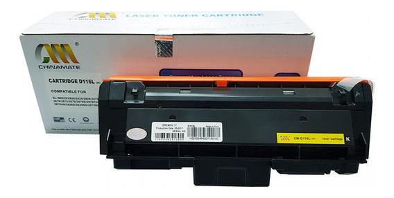 Toner Compatível Samsung Mltd116l D116 D116l 2875fw 2885fw 2826nd 2825 2835 2875 2885 Chinamate