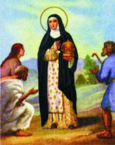 1000 Santinho Milheiro Santa Edwiges Personaliz Oração Prece