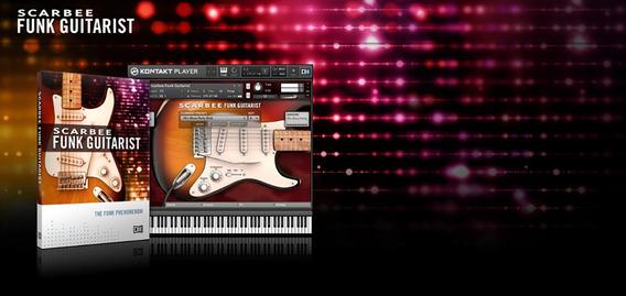 Native Instruments Scarbee Funk Guitarist - Envio Imediato