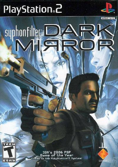 Syphon Filter Dark Mirror Ps2 Midia Fisica Novo Lacrado Nf