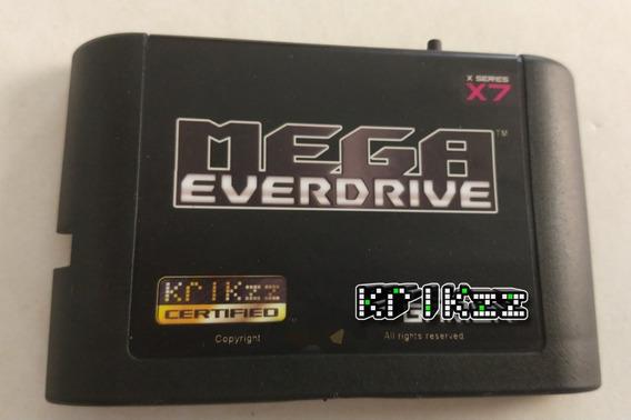 Mega Everdrive X7 Original Krikzz Sem Cartão Sd S/ Juros