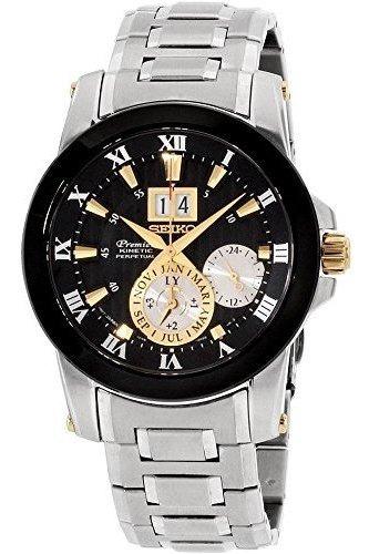Relógio Masculino Seiko Modelo Premier