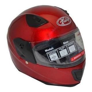 Casco Junior Y001 Abs L Rojo Kinlley